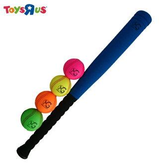 """玩具反斗城   MG 24""""PU球棒&棒球套組(一隻球棒+4球)"""