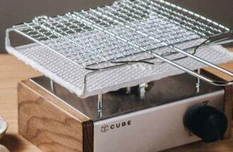 《愛露愛玩》KOVEA CUBE迷你爐///可加購日式金屬陶瓷雙層可拆式燒烤網///可加購原木側板