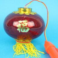 大水晶燈 手提音樂燈光小燈籠(無音樂)/一袋50個入{促60}元宵燈籠 大紅燈籠~富87