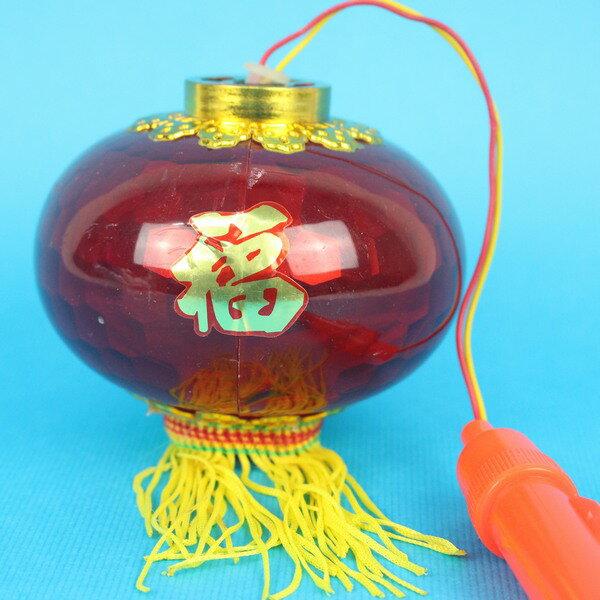 大水晶燈手提音樂燈光小燈籠(無音樂)一袋50個入{促60}元宵燈籠大紅燈籠~富87