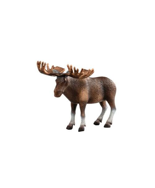 【美國B.Toys感統玩具】Terra 北美洲動物-麋鹿【紫貝殼】