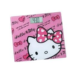 X射線【C163345】Hello Kitty 電子體重計-桃紅,體脂器/體重秤/電子式體重計/磅秤