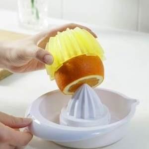 美麗大街【BF009E24】家用多功能簡易手動壓榨機 橙子榨汁器組合套裝