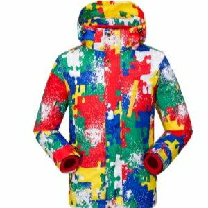 美麗大街【WDC120514】迷彩兒童戶外運動衝鋒衣兩件套 三合一男童女童秋冬