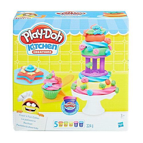 《Play-Doh 培樂多》培樂多廚房系列 - 糖霜蛋糕遊戲組