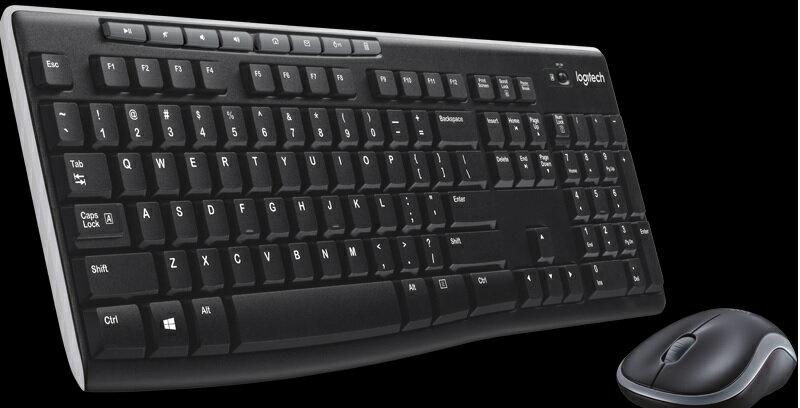 Logitech 無線滑鼠鍵盤組 MK270R