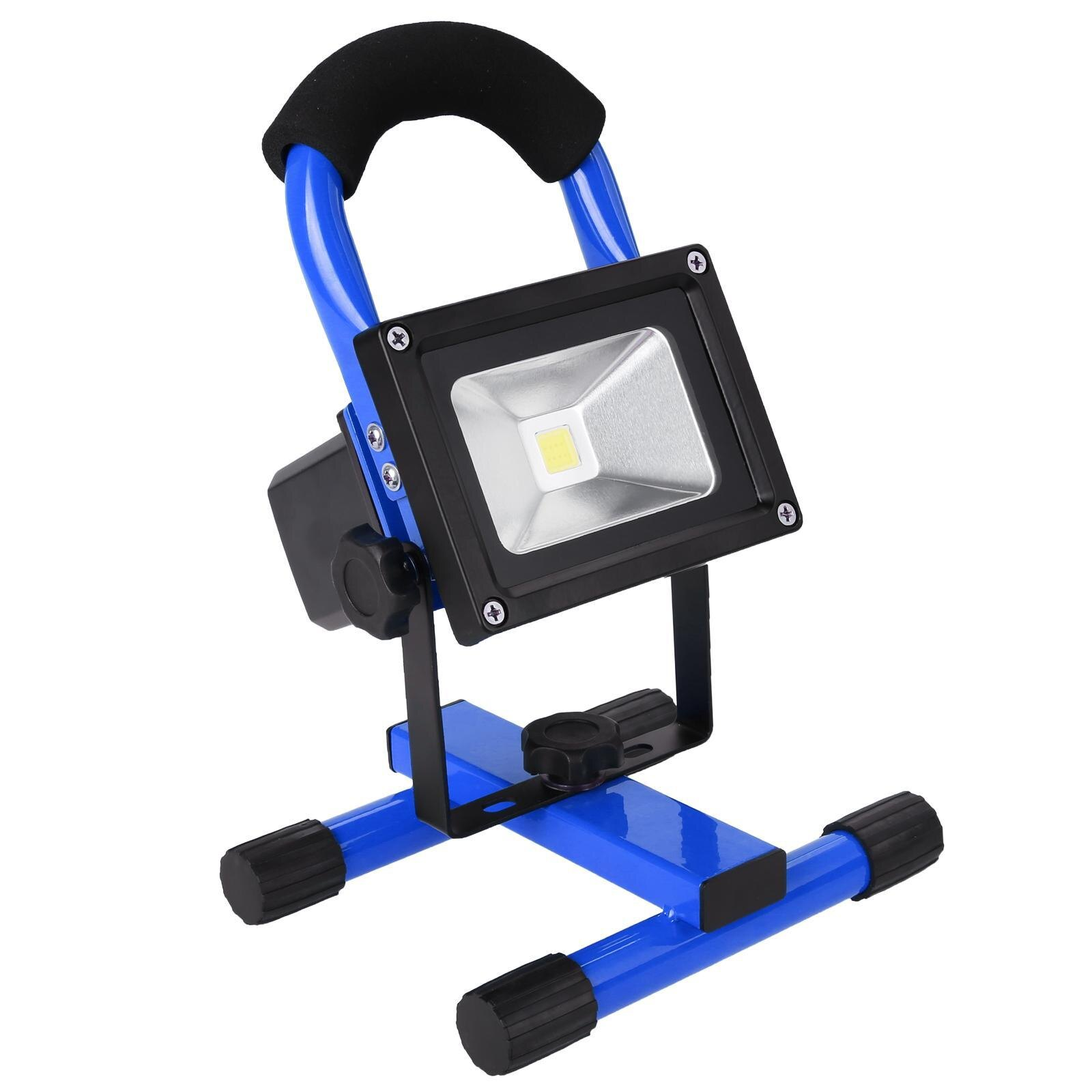 10W Wireless Rechargeable LED Flood Light Outdoor Camping Hiking Lamp 0
