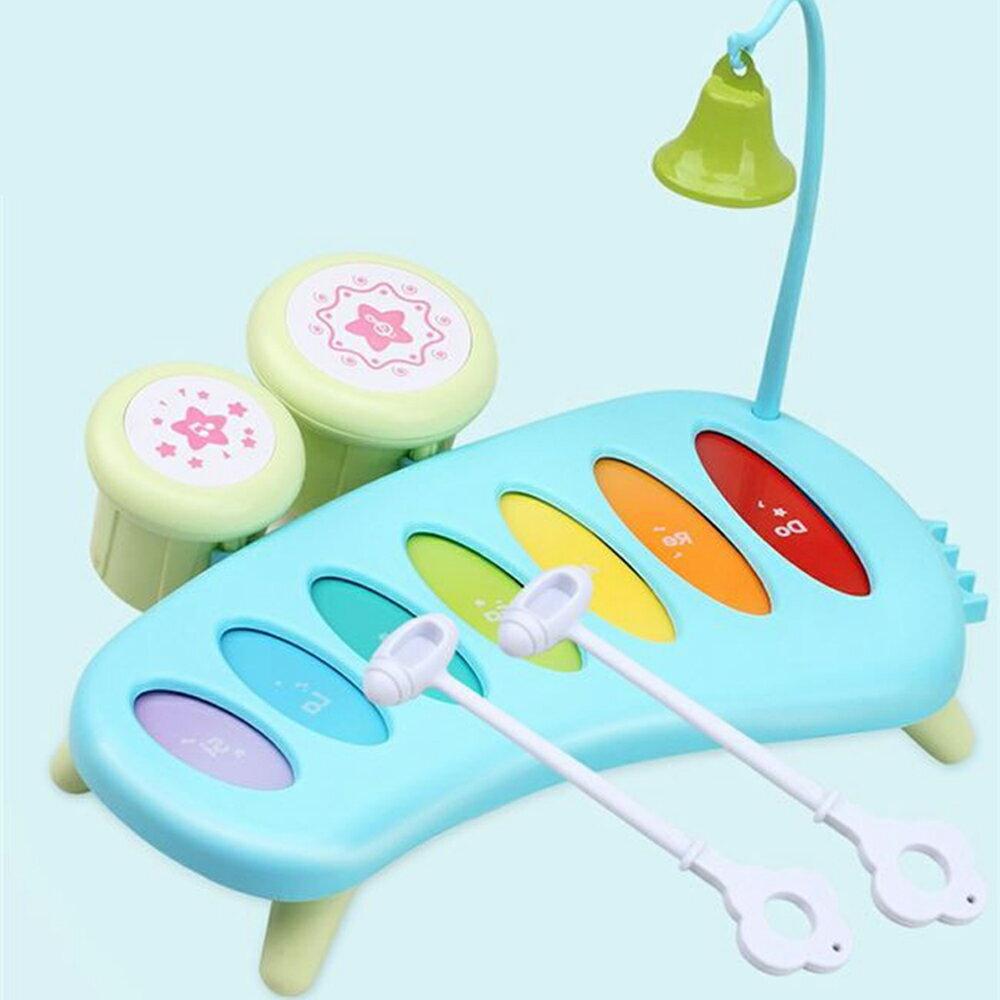 【GCT玩具嚴選】益智嬰兒敲琴 寶寶手部練習教具