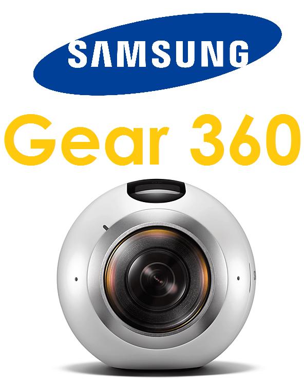 【原廠盒裝-拆封品】三星 SAMSUNG Gear 360度環景攝影機(SM-C200)