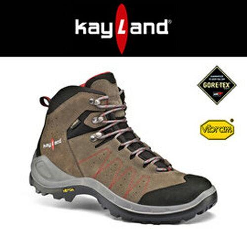 【鄉野情戶外專業】 Kayland |義大利| TYPHOON MID GTX 防水透氣 健行 登山鞋 男款 胡桃紅 15075