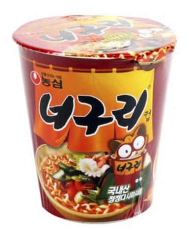 農心 浣熊麵-辣昆布海鮮(杯麵) 62g