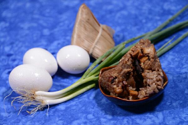 【彭媽媽米食坊】客家肉粽(10顆包盒)