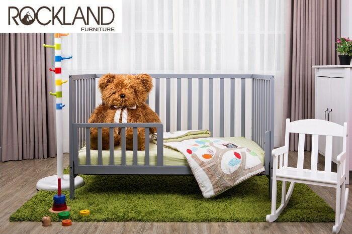 【送床包】【Rockland】喬依思4合1嬰兒床(附贈床墊+床側護欄)-4色 1