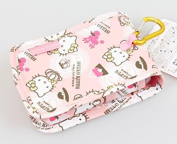 X射線【C765496】Hello Kitty 手機袋(粉),美妝小物包 / 媽媽包 / 面紙包 / 化妝包 / 零錢包 / 收納包 / 皮夾 / 手機袋 / 鑰匙包 1