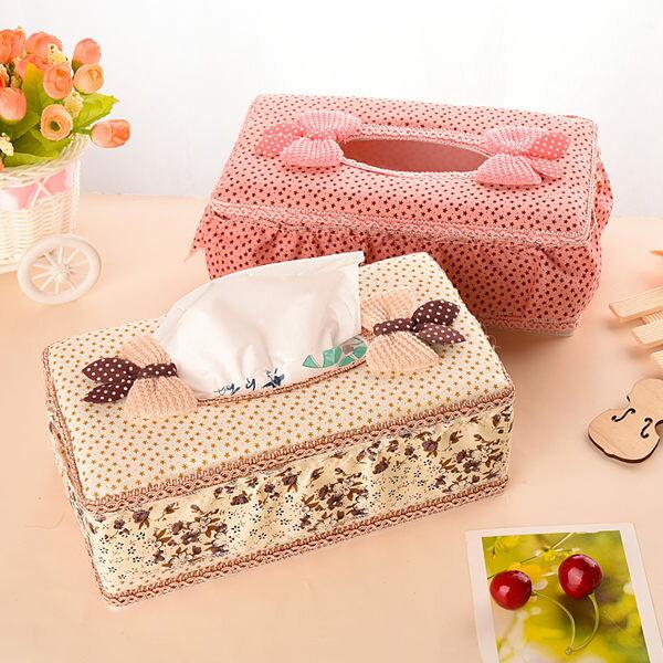 歐式田園蕾絲拼布面紙盒 面紙盒 紙巾盒 ^( 7~14天^) ~  好康折扣