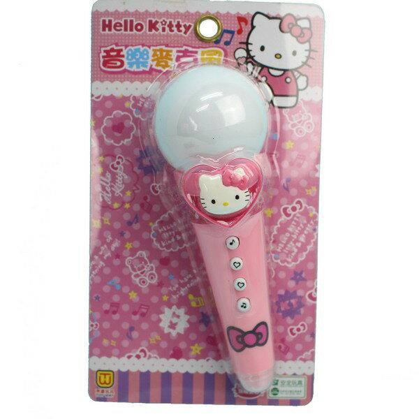 Hello Kitty 凱蒂貓麥克風 A334KT音樂麥克風玩具(附電池)/一個入{促240}正版授權~田.東匯