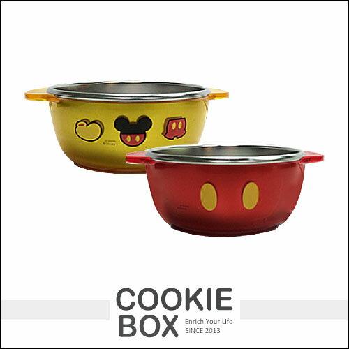 韓國Disney迪士尼米奇兒童卡通不鏽鋼碗無蓋米老鼠290ml*餅乾盒子*