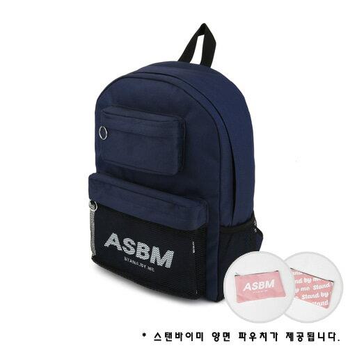 【獨家商品】韓國潮牌 STANd.BY.ME 152 多袋口後背包 書包 電腦包 3
