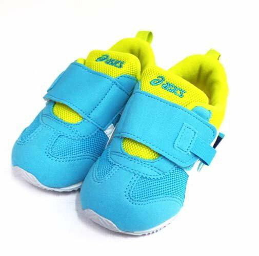 亞瑟士 ASICS 男女童鞋 (黃藍) IDAHO BABY PT-ES 3 嬰兒鞋 學步鞋 TUB171-3901【 胖媛的店 】