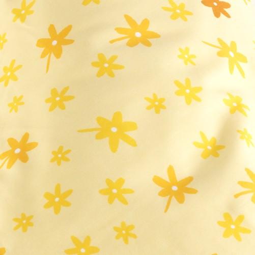 德國 Theraline 哺乳育嬰月亮枕套 190公分妊娠及育嬰枕頭套 - 小黃花【總代理公司貨】【淘氣寶寶】