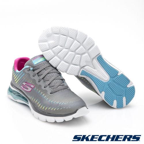 SKECHERS(女)運動系列SkechAir12300GYMT【胖媛的店】