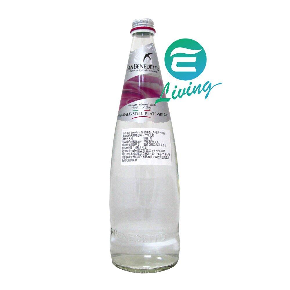 聖碧濤SAN BENEDETTO 天然礦泉水 粉色瓶 (1L X 12瓶) 免運