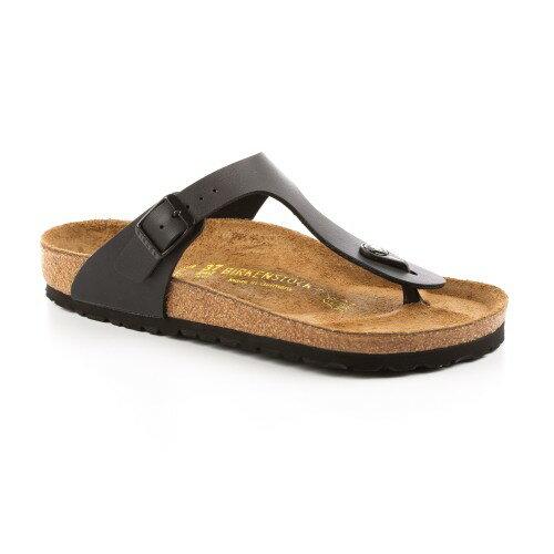 宜蘭勃肯 Birkenstock 宜蘭勃肯 BIRKENSTOCK GIZEH吉薩 夾腳拖鞋(黑)