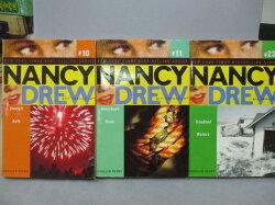 【書寶二手書T4/原文小說_NPW】Nancy Drew_10+11+23冊_共3本合售_Uncivil Acts等