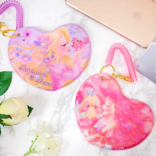 PGS7日本迪士尼系列商品-日貨迪士尼唯美公主票卡夾長髮公主小美人魚【SGD71401】