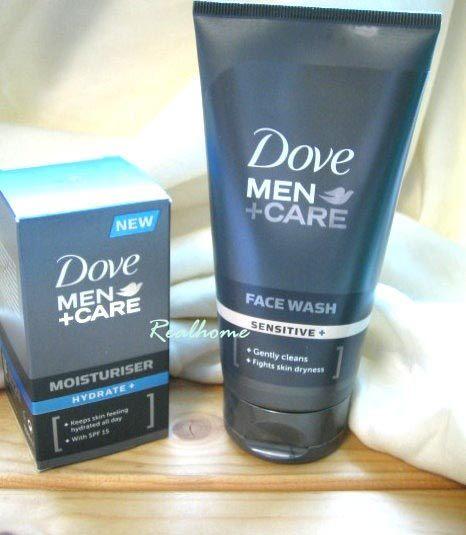 *Realhome*原裝進口 DOVE多芬男士 保濕隔離乳 SPF15 + 敏感型洗面乳