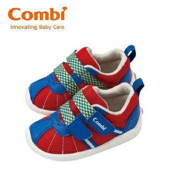 【安琪兒】日本【Combi】 幼兒機能鞋--微風暖洋-豔陽紅 - 限時優惠好康折扣