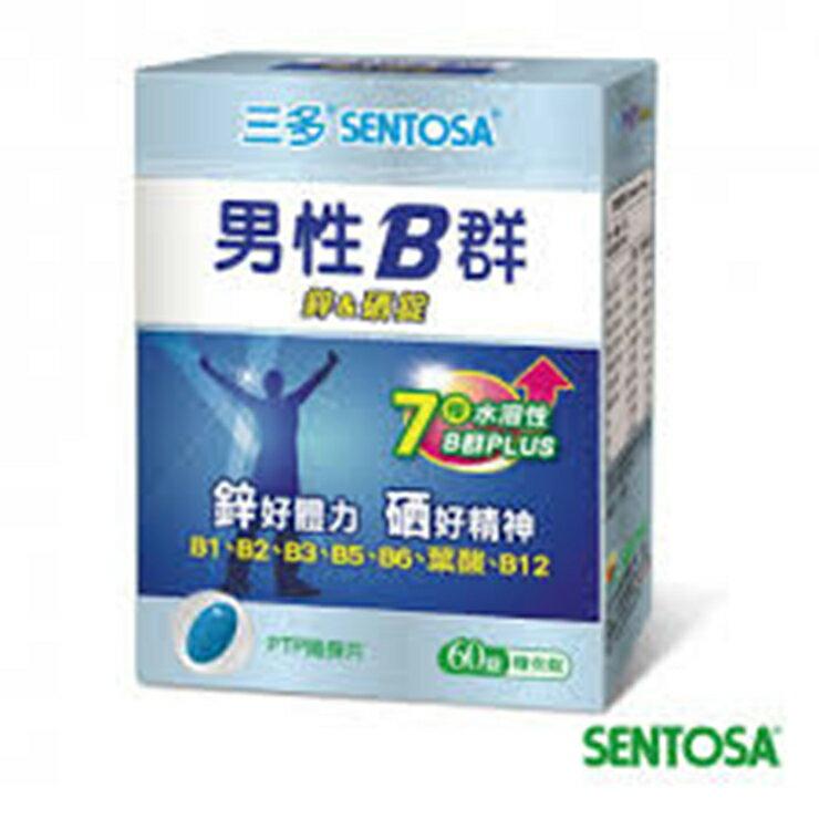 【典安】三多系列 男性B群 鋅&硒強化錠 60錠
