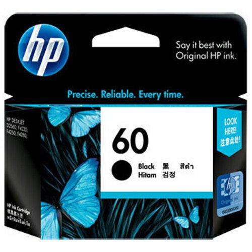 【HP 墨水匣】CC640WA / NO.60 原廠黑色墨水匣 - 限時優惠好康折扣