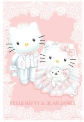 Hello Kitty&Dear Daniel夢幻婚禮夜光拼圖1000片