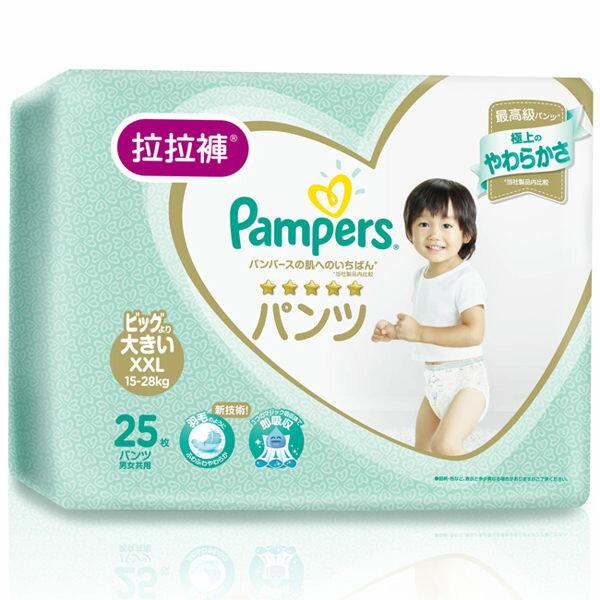 日本【幫寶適】一級幫褲型拉拉褲XXL(25片/包)