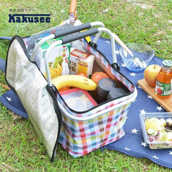 【日本Kakusee料理道具】折疊式保溫保冷袋