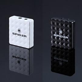 志達電子 C-EAMP Spider XtremeBass Amp (Spider 重低音加強隨身耳機擴大機) 黑/白 FireyeMini+ 可參考!