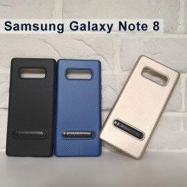 【TOTU】炭系列支架保護殼SamsungGalaxyNote8N950FD(6.3吋)