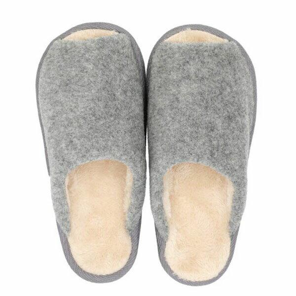 吸濕發熱 拖鞋 N WARM COMFORT Q 19 GY L NITORI宜得利家居 4