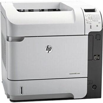 HP LaserJet 600 M602N Laser Printer - Monochrome - 1200 x 1200 dpi Print - Plain Paper Print - Desktop - 52 ppm Mono Print - 600 sheets Standard Input Capacity - 225000 Duty Cycle - LCD - Ethernet - USB 4