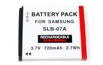 *╯新風尚潮流╭*For SAMSUNG 鋰電池 SLB-07A ST50 ST500 ST550 650mAh SLB07A