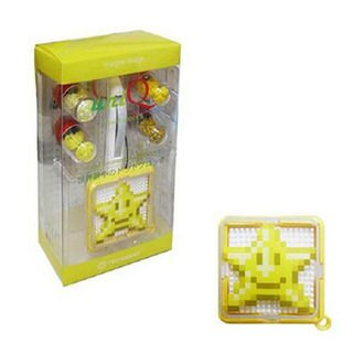 【uniQ 象素積木】世界最小級積木系列-黃色幸運星星款 (成單開量3,目前下單量0,可成單餘量3,初回開量)