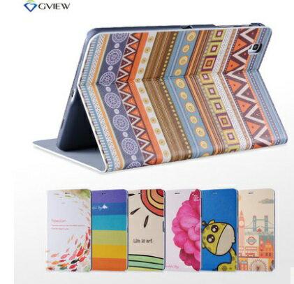 現貨 Samsung Tabpro 8.4 彩繪側掀站立皮套 T320/325 平板電腦保護套