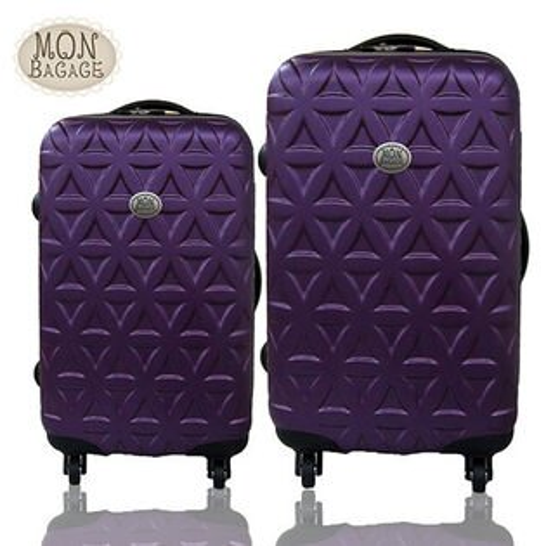 MONBAGAGE金磚滿滿超值兩件組28吋+24吋ABS霧面輕硬殼旅行箱行李箱