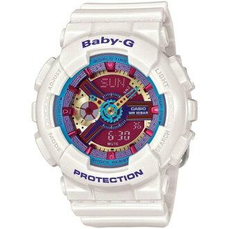 CASIO BABY-G甜美繽紛色彩運動錶/BA-112-7ADR