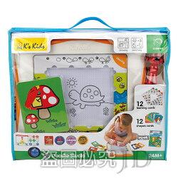 購物節再加贈【香港 Ks Kids 奇智奇思】第二代魔法畫家學習組 (台灣限定款)/磁性畫板/魔法畫畫板/不只是畫板 SB00450