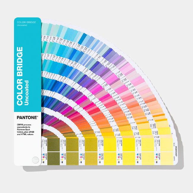 PANTONE 色票 色彩橋樑-膠版紙【Color Bridge Guide   Uncoated】新增294色 GG6104A / 本【2019 最新版】