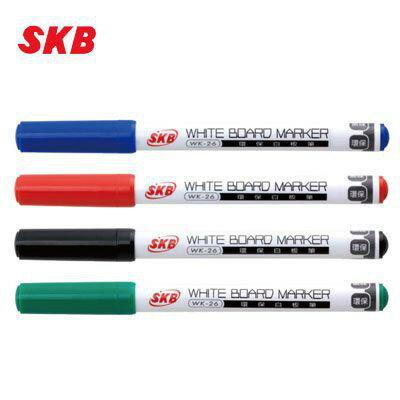 偉旗文具 SKB WK-26 2.0mm圓頭細字白板筆