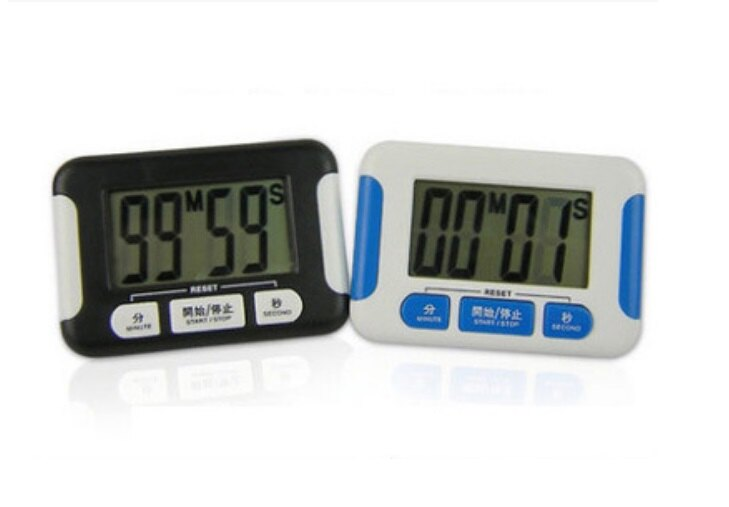 電子計時器 多功能大屏幕計時 倒數計時器 烹飪計時 學習時間計時 電子定時器 運動時間計測 廚房用品 3