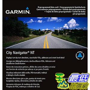 [106美國直購] 2017美國暢銷軟體 Garmin City Navigator 2016 Germany/Eastern France Map microSD Card